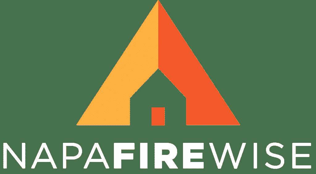 Napa Firewise logo with white text